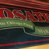 Photo taken at Rosati's Pizza by Victoria D. on 11/30/2013