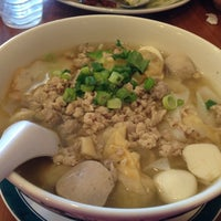 Photo taken at Thai Boom - Thai Food Delivery by Yuki on 12/13/2012