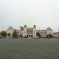 Photo taken at Mohács Városháza by Viktor S. on 10/23/2016