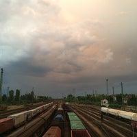 Photo taken at Ferencváros vasútállomás by Viktor S. on 6/1/2016