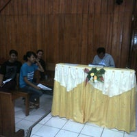Photo taken at Gereja Koinonia by SANCE FARECK on 9/24/2012