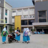 Photo taken at SMK Farmasi As-Shifa Bandung by kristin on 3/10/2014
