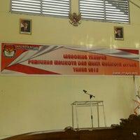 Photo taken at Kantor KPU Kota Bitung by Theogives I.M K. on 4/17/2015