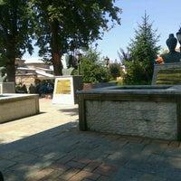 Photo taken at vezirkopru adnan menderes parkı by Merve P. on 8/7/2016