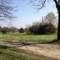 Photo taken at Parco della Resistenza by Fabio D. on 3/29/2014
