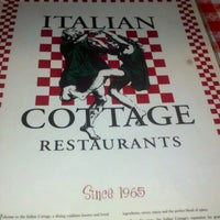 Photo taken at Italian Cottage by Z-Rae on 11/26/2012