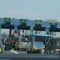 Photo taken at NLEX Bocaue Toll Plaza by Eric S. on 4/23/2017