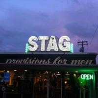 Photo taken at Stag by Devon S. on 3/9/2013