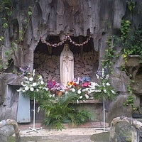 Photo taken at Gereja Katolik St. Agustinus by Ignatius S. on 4/18/2014