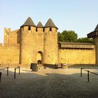 Photo taken at Château Comtal de la Cité de Carcassonne by ʌlı on 7/15/2013