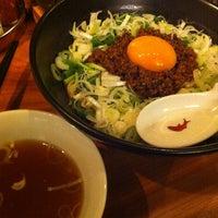 Photo taken at 麻布麺房 どらいち by Akihiro T. on 11/6/2012