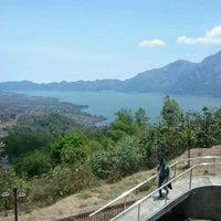Photo taken at Batur View Spot by Chris Y. on 10/26/2012
