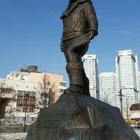 Photo taken at Памятник Водопьянову Михаилу Васильевичу by Vladimir B. on 3/11/2016