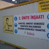 Photo taken at İçdaş A.Ş. Absorber Boya ve Kumlama by Mehmet P. on 10/26/2013