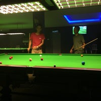 Photo taken at golden snooker by Ariff S. on 9/25/2016