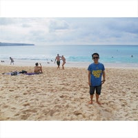 Photo taken at Dreamland Beach by mpii p. on 11/20/2014