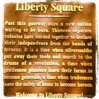 Photo taken at Liberty Square by Alejandra M. on 6/23/2012