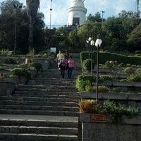 Photo taken at Parque Metropolitano de Santiago by Leonardo C. on 4/23/2013