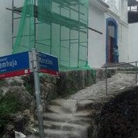 Photo taken at Capela de Santa Luzia by Leonardo C. on 11/4/2012