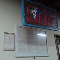 Photo taken at Pizzaria Surf by Leonardo C. on 3/23/2013