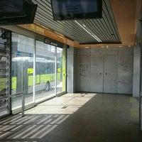 Photo taken at BRT Move - Estação Ouro Minas by Leonardo C. on 2/24/2016