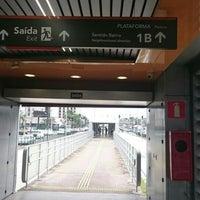 Photo taken at BRT Move - Estação Ouro Minas by Leonardo C. on 2/26/2016