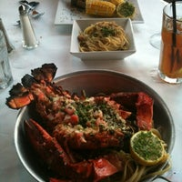 Photo taken at Grillfish by Angela v. on 10/28/2012