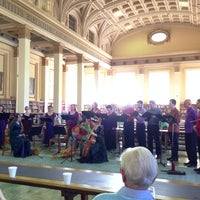 Photo taken at Barr Smith Reading Room by Eva H. on 2/23/2014