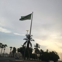 Photo taken at Jeddah Flagpole by Thamer 👀🇸🇦 on 7/31/2016
