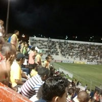Photo taken at Estádio Cornélio de Barros (Salgueirão) by Johab S. on 4/16/2014