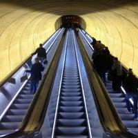 Photo taken at Dupont Circle Metro Station by Anna G. on 1/20/2013