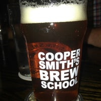 Photo taken at CooperSmith's Pub & Brewing :: Pubside by Josh J. on 5/26/2013