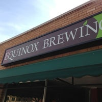 Photo taken at Equinox Brewing by Josh J. on 5/25/2013