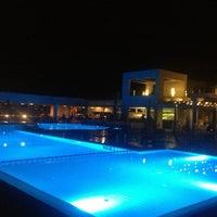 Photo taken at Thalatta Seaside Hotel by Zetta A. on 9/7/2013