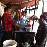 Photo taken at Tea Stall near Mindshare by Rezaur R. on 12/31/2012