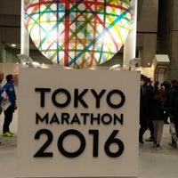 Photo taken at Tokyo Marathon EXPO by 洋介 西. on 2/25/2016