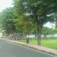 Photo taken at Lapangan Astina by Komang R. on 1/7/2013