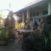 Photo taken at Kaliuda Gallery by Komang R. on 3/9/2013