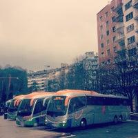 Photo taken at Donostia | San Sebastián Bus Station by Ainara on 2/26/2013