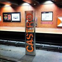 Photo taken at Castro MUNI Metro Station by Zahid Z. on 10/21/2012