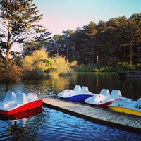 Photo taken at Stow Lake Boat House by Zahid Z. on 2/25/2013