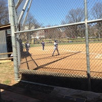 Photo taken at Guy Mason Field by Michael C. on 4/6/2014