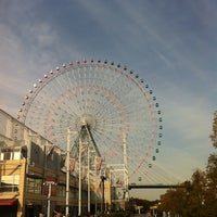 Photo taken at Tempozan Giant Ferris Wheel by Kyunghee P. on 4/1/2013