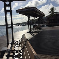 Photo taken at Christiansted Boardwalk by Dennis B. on 5/10/2017
