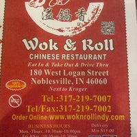 Photo taken at Wok & Roll by Marla B. on 6/6/2013