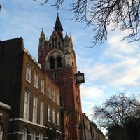 Photo taken at Union Chapel by Simon V. on 3/3/2013