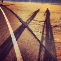 Photo taken at Fiesta Island by Jason W. on 10/16/2012