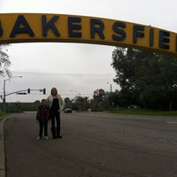 Photo taken at The Bakersfield Sign by Jason W. on 12/25/2012