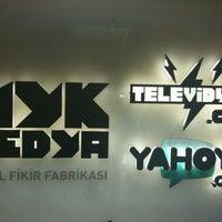 Photo taken at MYK Medya by Özgür T. on 1/8/2013