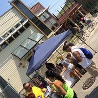 Photo taken at Urban Ecology Center Menomonee Valley Branch by The Gouda Girls Truck on 7/19/2014
